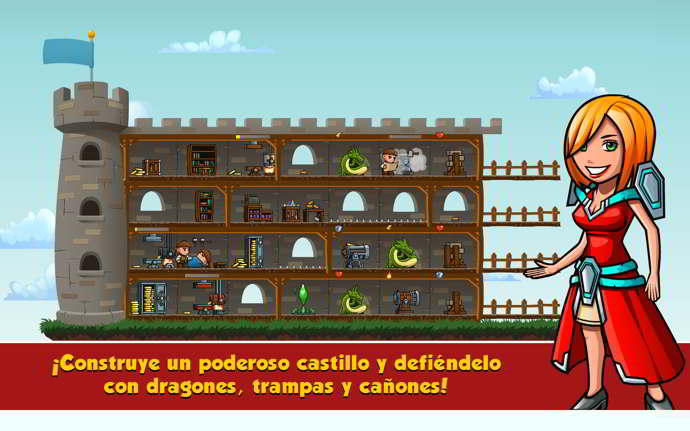 arcanox naipes vs castillos android