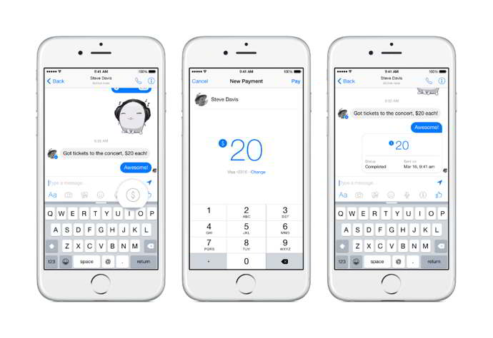 facebook messenger pagos usuarios