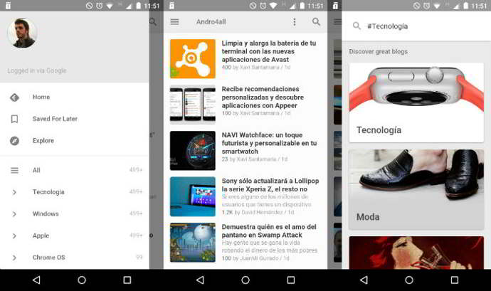 feedly v26 android