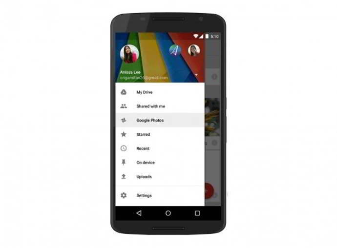 google plus drive android