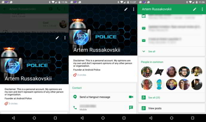 hangouts v3.0 android