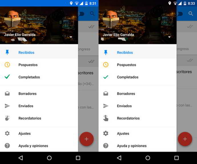 inbox by gmail v1.3 android