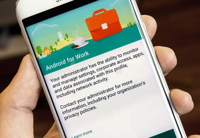 android for work app android