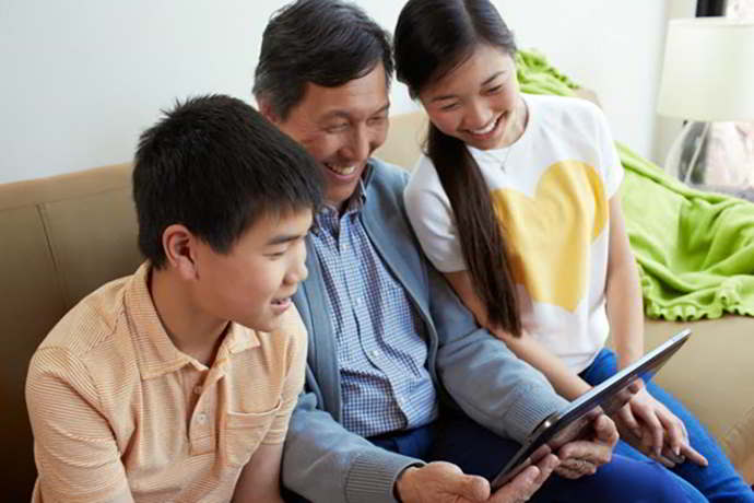 google designed for families android