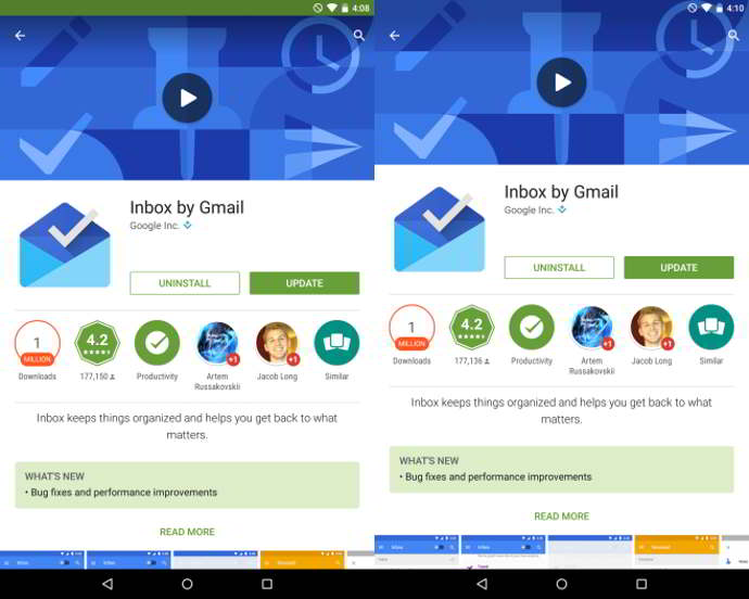google play store v5.4 android
