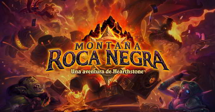 hearthstone heroes od warcraft montaña roca negra android