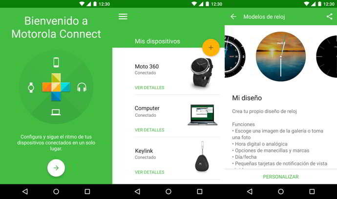 motorola connect android moto 360