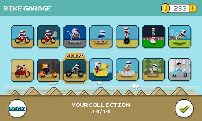 retrobike android