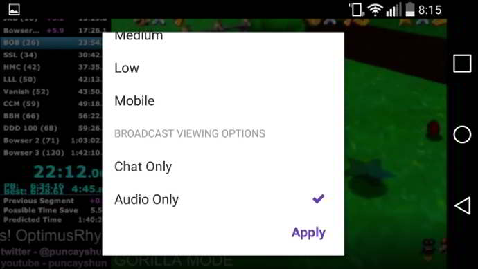 twitch v3.2.0 android