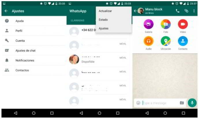 whatsapp android material design