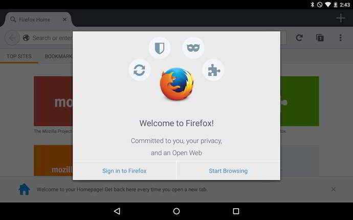 firefox v38 android