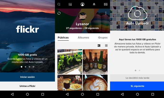 flickr v4.0 android