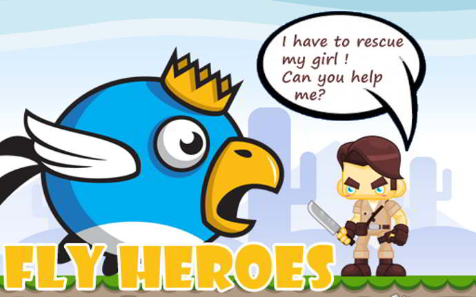 fly heroes android