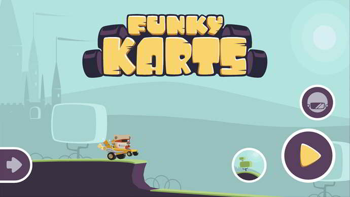 funky karts android