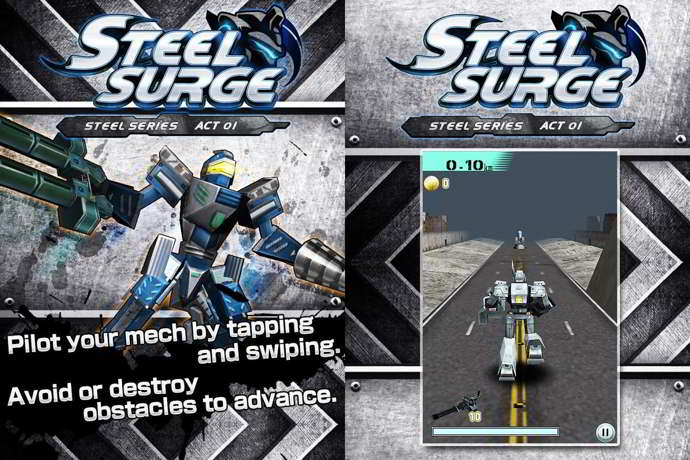 steel surge android