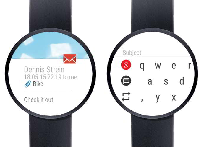 wear mail client for gmail android
