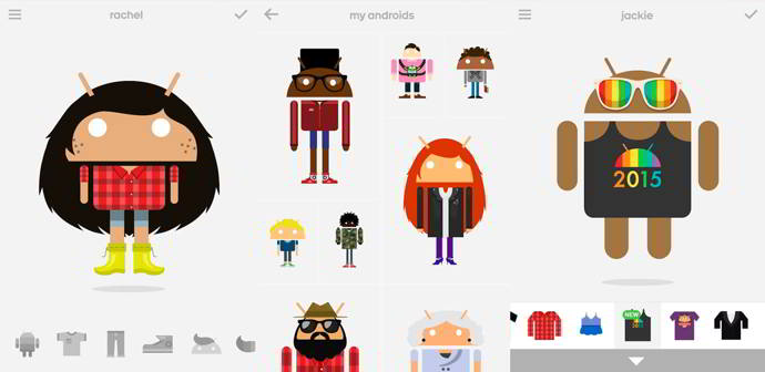 androidify orgullo gay android