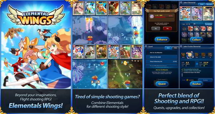 elemental wings android