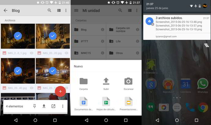 google drive v2.2.23 android