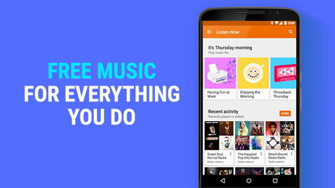 google play music publicidad android