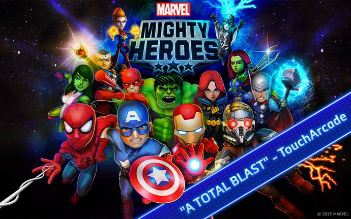 marvel mighty heroes android