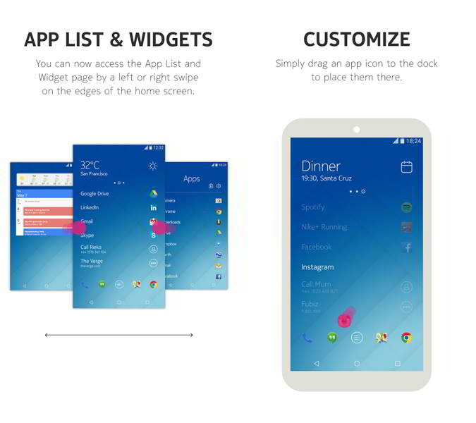 z launcher beta android