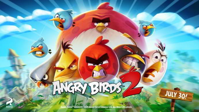 angry birds 2 teaser android