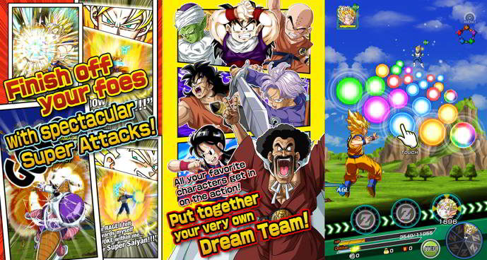 dragon ball z dokkan battle android