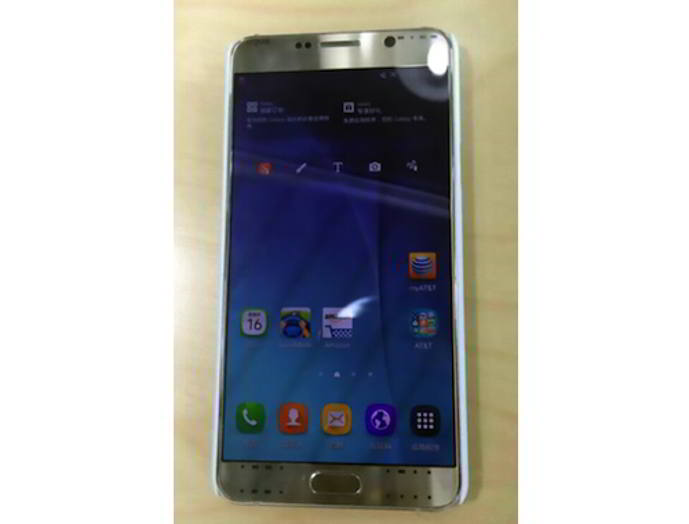 galaxy note 5 prototipo android