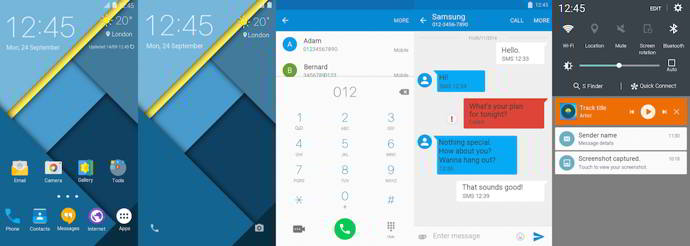 galaxy s6 material design tema android