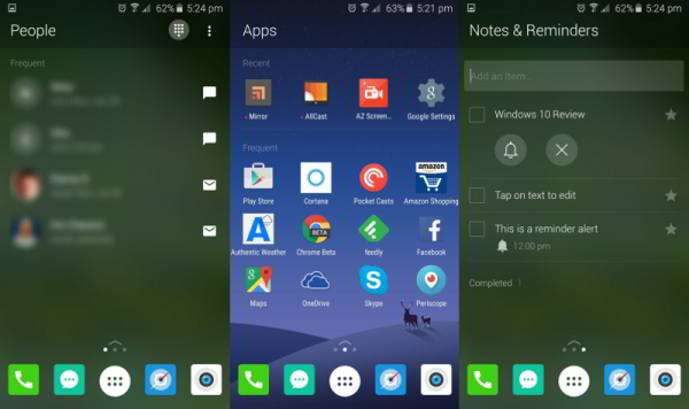 microsoft arrow launcher android
