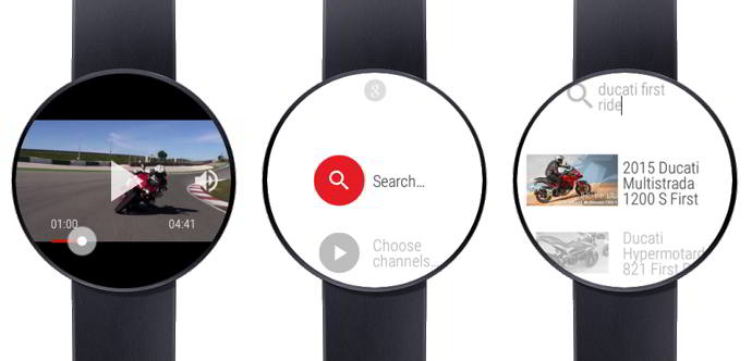 video for android wear and youtube android