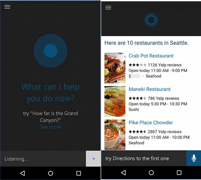 cortana beta android
