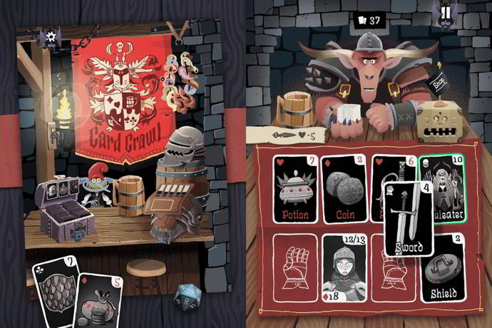 card crawl android