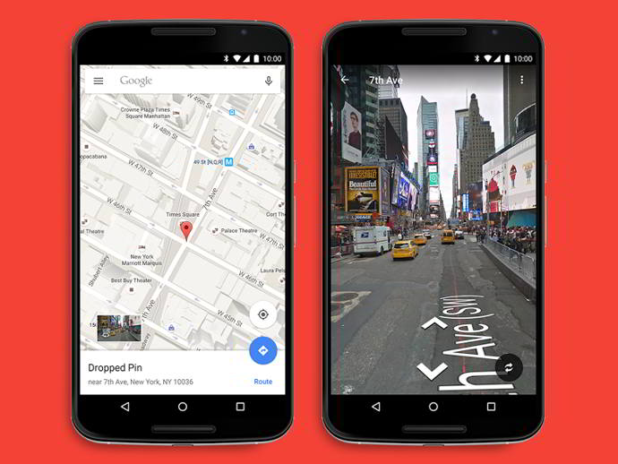 google maps street view android