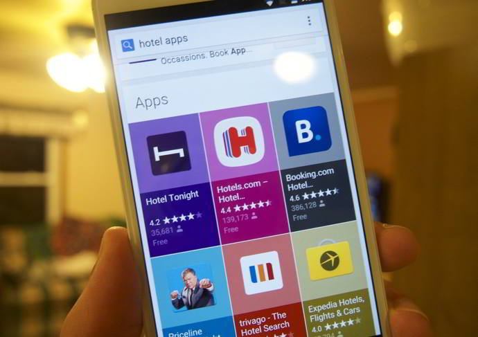 google search apps android