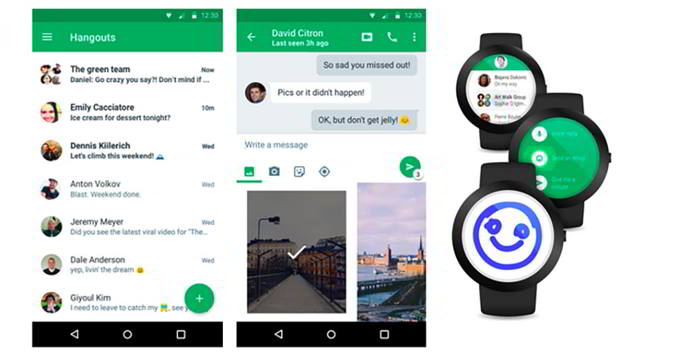 hangouts v4.0 android