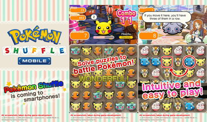 pokemon shuffle mobile android