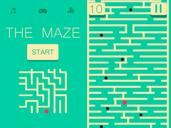 the maze android