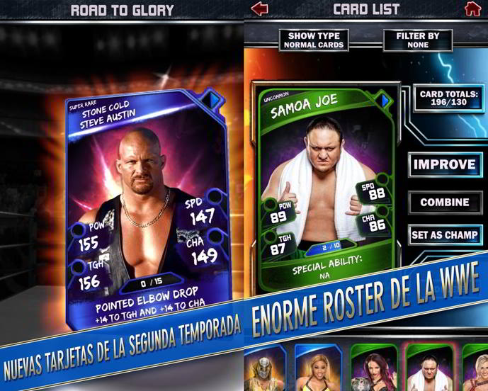 wwe supercard android