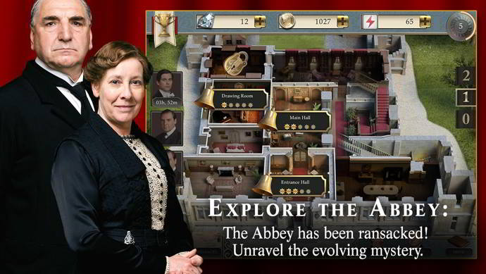 downton abbey mysteries of the manor android