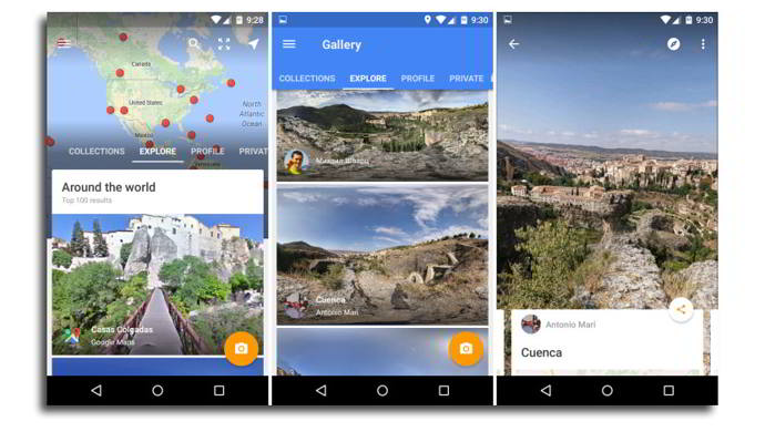 google street view v2.0 android