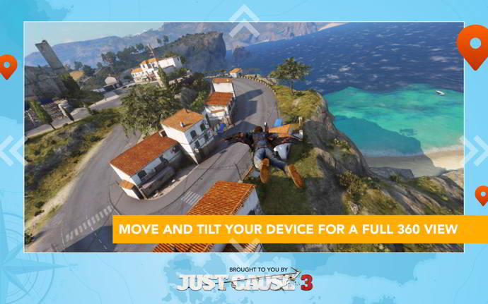 just cause 3 wingsuit tour android
