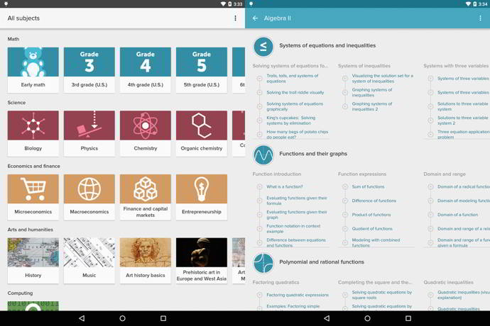 khan academy beta android