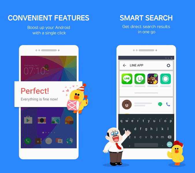 line launcher android
