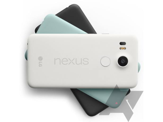 nexus 5x android colores