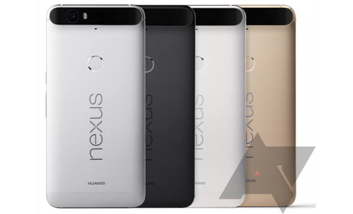 nexus 6p colores android