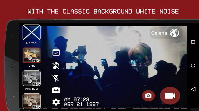 vhs camera recorder android