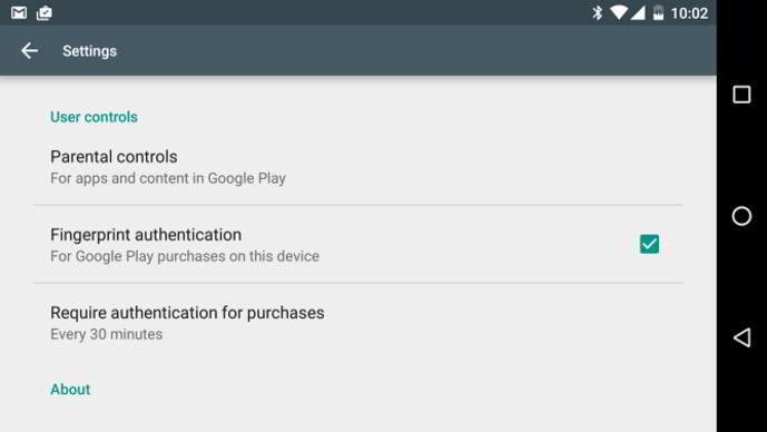 android marshmallow play store compras