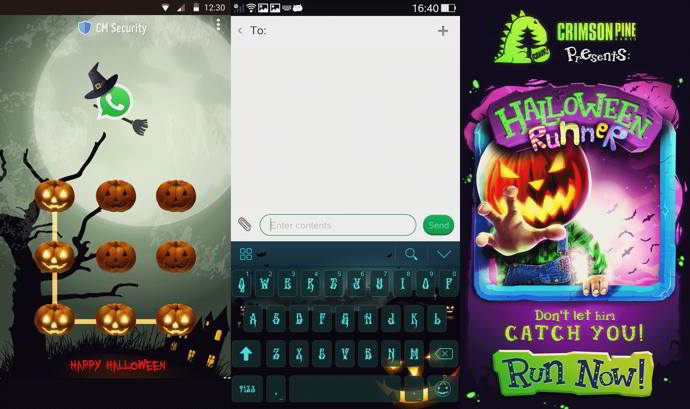 apps halloween android